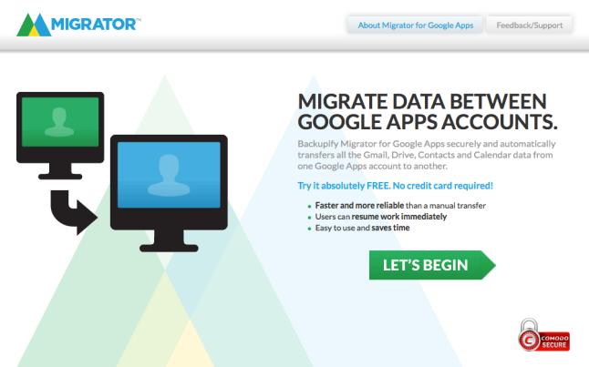 Migrator Screen Shot